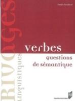 Livre - Verbes : questions de sémantiques par l'auteure Fanelly Pariollaud