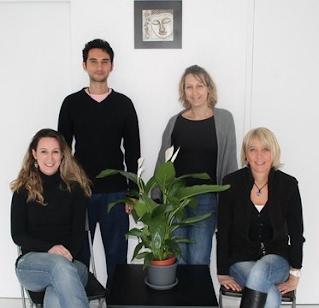 Les quatre thérapeutes de l'institut de gestion du stress Aubagne / Marseille