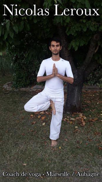 Nicolas Leroux coach de yoga