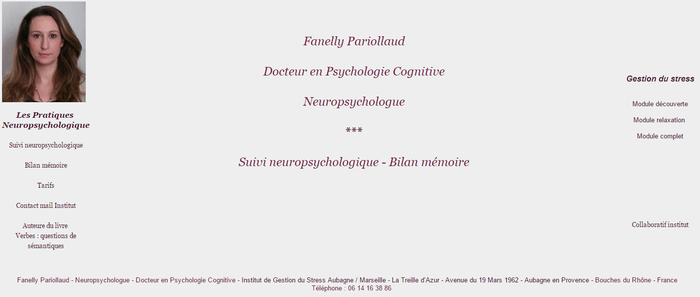 Fanelly Pariollaud Neuropsychologue