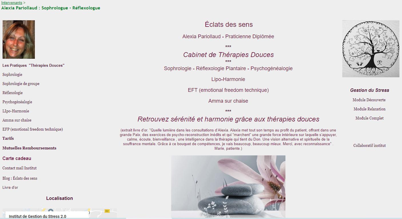 Pariollaud Alexia Réflexologue - Sophrologue