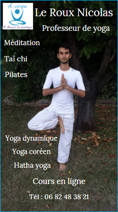 Le Roux Nicolas professeur de yoga