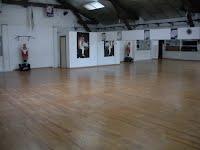 Vue salle de yoga Aubagne